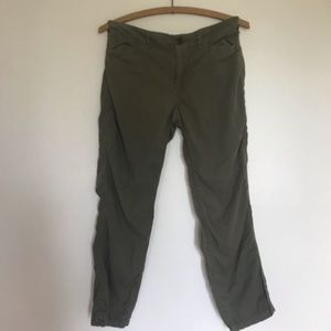 3/$30🛍 Ralph Lauren army green capris
